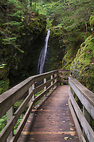 Dickson Falls Trail, Fundy National Park New Brunswick Canada