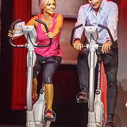 NLD/Hilversum20150825 - Najaarspresentatie RTL 2015, Chantal Janzen en Erland Galjaard