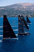 Momo sailing in the  Corfu Challenge, day three.