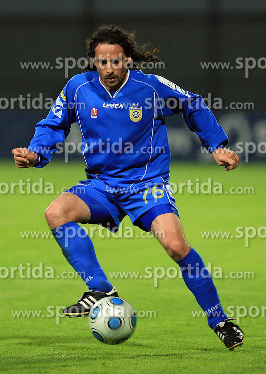 Danijel Brezic at 30th Round of Slovenian First League football match between NK Domzale and NK MIK CM Celje in Sports park Domzale, on April 25, 2009, in Domzale, Slovenia. Celje won 3:0. (Photo by Vid Ponikvar / Sportida)