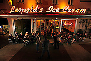 Revived from the past, Leopold's Ice Cream on Brought Street was a Savannah landmark in the 1930s and 40s, and thanks to Stratton and Mary Leopold, it has been recently returned to its glory and visitor's favorite in historic downtown Savannah, Ga. (Photo by Stephen Morton)