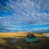 camping with two tents prairie eastern montana near ekalaka