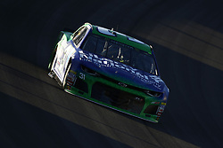 September 14, 2018 - Las Vegas, Nevada, United States of America - Ryan Newman (31) brings his car through the turns during qualifying for the South Point 400 at Las Vegas Motor Speedway in Las Vegas, Nevada. (Credit Image: © Chris Owens Asp Inc/ASP via ZUMA Wire)