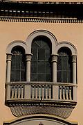 Barra Longa_MG, Brasil...Detalhes arquitetônicos da igreja Sao Jose, Matriz da cidade...Architectural detail of Sao Jose  mother church in Barra Longa...Foto: LEO DRUMOND / NITRO.