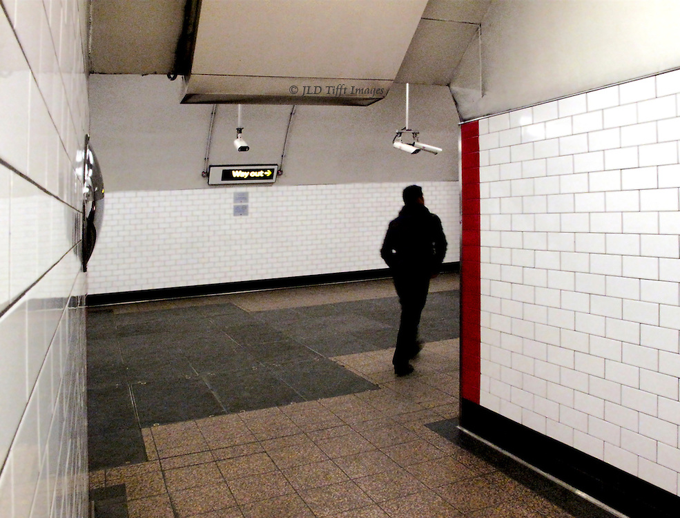 Some tube stops have been refurbished with white ceramic tiles and look to me rather medical.