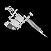 x-ray of a Tattoo gun or tattoo machine