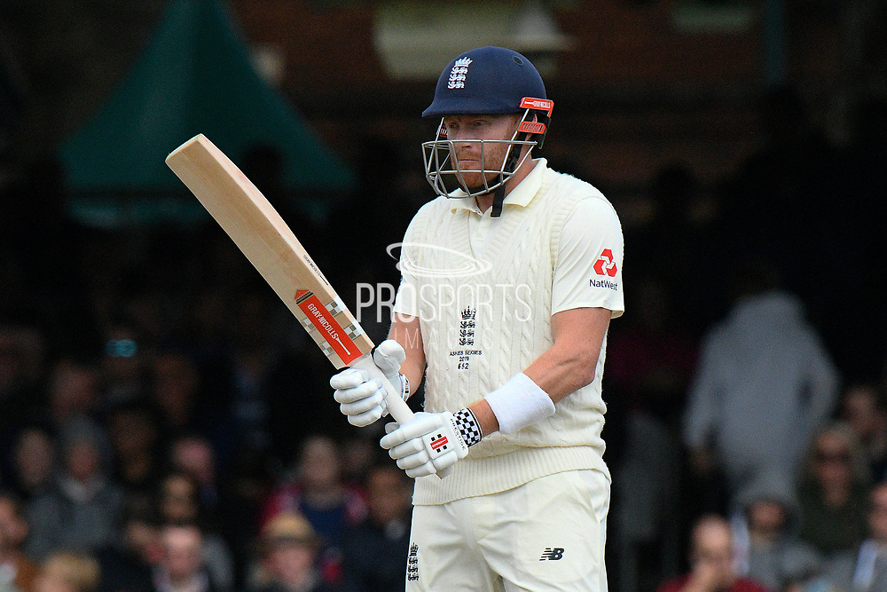 Jonny Bairstow of England during the International Test Match 2019 match between England and Australia at Lord's Cricket Ground, St John's Wood, United Kingdom on 18 August 2019.