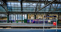 Glasgow Central Station - the major mainline rail terminus in Glasgow, Scotland<br /> <br /> (c) Andrew Wilson   Edinburgh Elite media