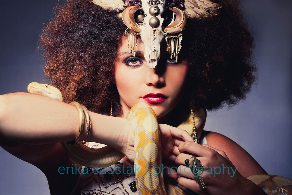 Inspired by the myth of Medusa. <br />