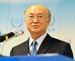 15.03.2011, IAEA, Wien, AUT, Pressekonferenz zur aktuellen Lage in Japan, im Bild IAEA Director General Yukiya Amano // IAEA Director General Yukiya Amano during Press conference about the current situation in Japan, EXPA Pictures © 2011, PhotoCredit: EXPA/ M. Gruber