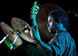 Leon Duncan (Monty Alexander Harlem-Kingston Express), 2011 <br /> Photo by Darrin Zammit Lupi