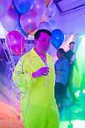 JOE SCOTLAND, Pop party. the birthday celebration of twin sisters Valeria Napoleone and Stefania Pramma. Studio Voltaire, London SW4. 17 May 2013.
