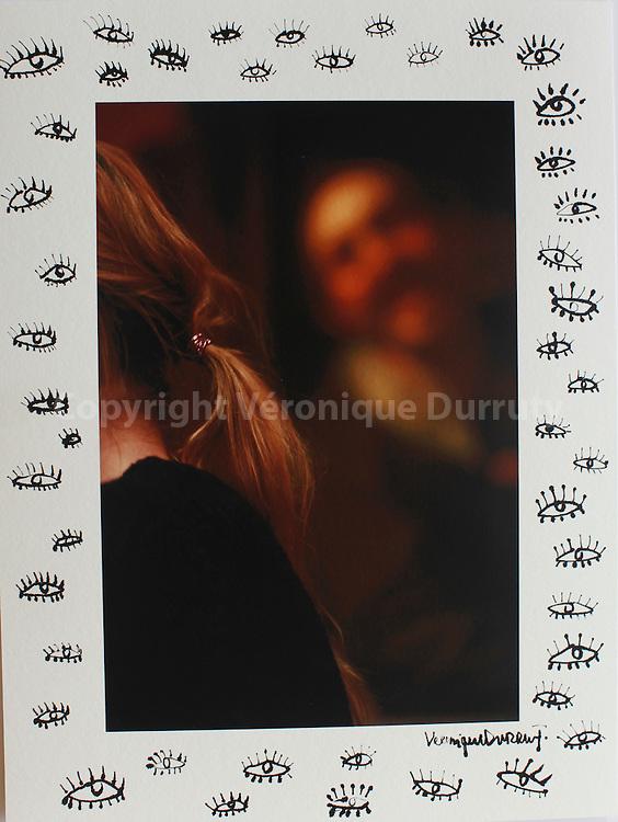"""Ouevre série """"women"""" par Véronique Durruty. tirage papier fine art 100% coton, feutre et encre de Chine. Dimension : 30x40 cm . Pièces uniques"""