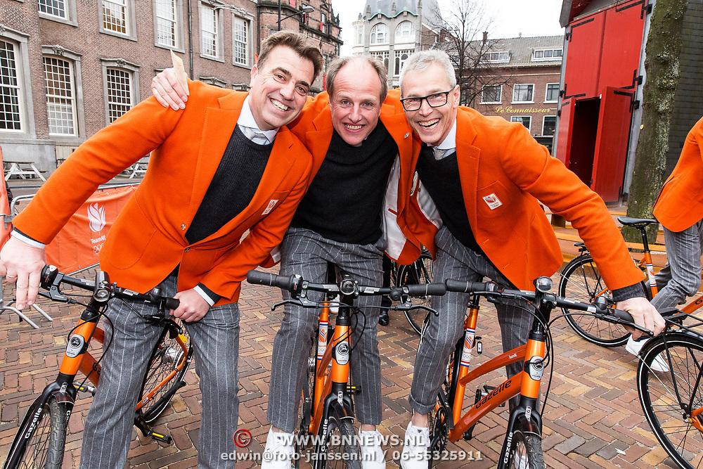 NLD/Den Haag/20180323 - Huldiging Olympische en Paralympische medaillewinnaars, Jeroen Bijl, Arie Koops en Jac Orie