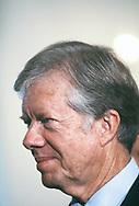 President Jimmy Carter portrait in November 1980.<br /> Photo by Dennis Brack