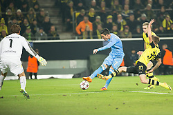 26.11.2013, Signal Iduna Park, Dortmund, GER, UEFA CL, Borussia Dortmund vs SSC Neapel, Gruppe F, im Bild Jose Callejon (SSC Napoli), Erik Durm (Borussia Dortmund), Roman Widenfeller (Borussia Dortmund) // Jose Callejon (SSC Napoli), Erik Durm (Borussia Dortmund), Roman Widenfeller (Borussia Dortmund) during UEFA Champions League group F match between Borussia Dortmund and SSC Napoli at the Signal Iduna Park in Dortmund, Germany on 2013/11/26. EXPA Pictures © 2013, PhotoCredit: EXPA/ Newspix/ Lukasz Skwiot / Foto Olimpik<br /> <br /> *****ATTENTION - for AUT, SLO, CRO, SRB, BIH, MAZ, TUR, SUI, SWE only*****