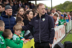 RHOSYMEDRE, WALES - Sunday, May 5, 2019: The New Saints' manager Scott Ruscoe after the FAW JD Welsh Cup Final between Connah's Quay Nomads FC and The New Saints FC at The Rock. (Pic by David Rawcliffe/Propaganda)