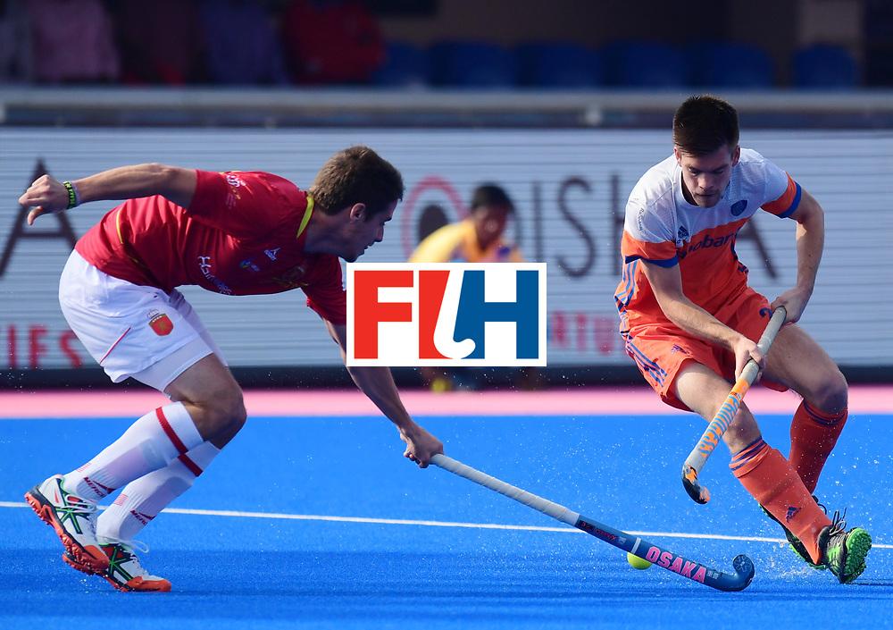 Odisha Men's Hockey World League Final Bhubaneswar 2017<br /> Match id:04<br /> Netherlands vs Spain<br /> Foto: Joep de Mol (Ned) <br /> WORLDSPORTPICS COPYRIGHT FRANK UIJLENBROEK