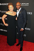 8 February-Washington, D.C: (L-R) Debra L. Lee, President & CEO, BET Networks and Comedian/Actor Wayne Brady attend the BET Honors 2014 Red Carpet held at the Warner Theater on February 8, 2014 in Washington, D.C.  (Terrence Jennings)