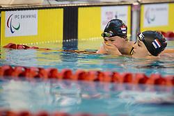 ZIJDERVELD Chantalle, KRUGER Lisa NED at 2015 IPC Swimming World Championships -  Women's 100m Breaststroke SB9