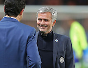 Chelsea Manager Jose Mourinho during the Champions League match between Paris Saint-Germain and Chelsea at Parc des Princes, Paris, France on 17 February 2015. Photo by Phil Duncan.