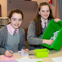 Alanah Mulqueen and Grace Meaney in the Raffle Ticket Team at the School Quiz for the JESSIES