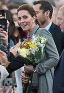 Kate Middleton & Prince William Visit Leicester