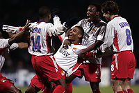 FOOTBALL - CHAMPIONS LEAGUE 2004/2005 - 1/8 FINAL - 2ND LEG - OLYMPIQUE LYONNAIS v WERDER BREMEN - 08/03/2005 - LYON JOY <br />