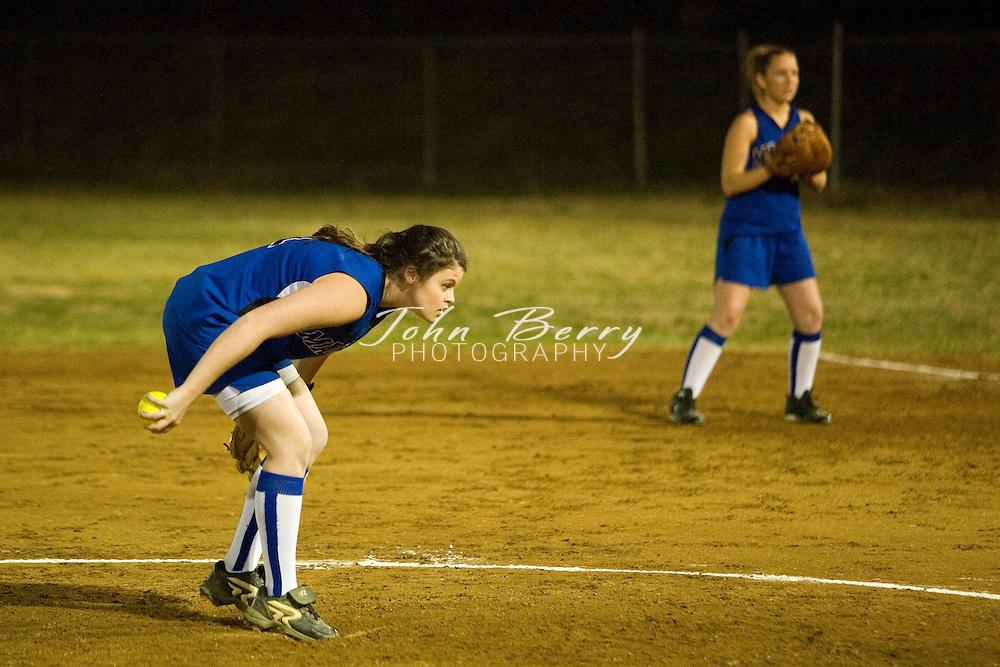 MCHS Varsity Softball.vs Orange.March 23, 2007
