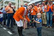 Netherlands World Champion Nations Cup Team Jeroen Dubbeldam - Zenith SFN, Maikel van der Vleuten - VDL Groep Verdi TN N.O.P., Gerco Schroder - Glock's London N.O.P., Jur Vrieling - VDL Bubalu<br /> Alltech FEI World Equestrian Games™ 2014 - Normandy, France.<br /> © DigiShots