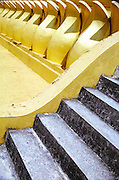 Detail of Wat Pha That Luang, a large golden buddhist stupa in the center of Vientiane, the capital of Laos, 2003.