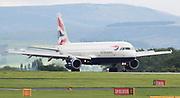 British Airways at Manchester Airport, Manchester, United Kingdom on 14 March 2020.