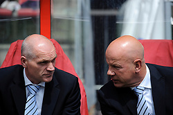 16-05-2010 VOETBAL: FC UTRECHT - RODA JC: UTRECHT<br /> FC Utrecht verslaat Roda in de finale van de Play-offs met 4-1 en gaat Europa in / Jan Wouters, Ton du Chatinier<br /> ©2010-WWW.FOTOHOOGENDOORN.NL