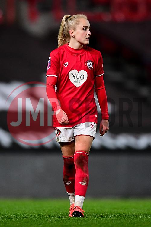 Faye Bryson of Bristol City - Mandatory by-line: Ryan Hiscott/JMP - 17/02/2020 - FOOTBALL - Ashton Gate Stadium - Bristol, England - Bristol City Women v Everton Women - Women's FA Cup fifth round