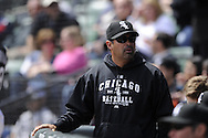 CHICAGO - MAY 01:  Manager Ozzie Guillen #13 of the Chicago White Sox looks on against the Baltimore Orioles on May 01, 2011 at U.S. Cellular Field in Chicago, Illinois.  The Orioles defeated the White Sox 6-4.  (Photo by Ron Vesely)  Subject:   Ozzie Guillen