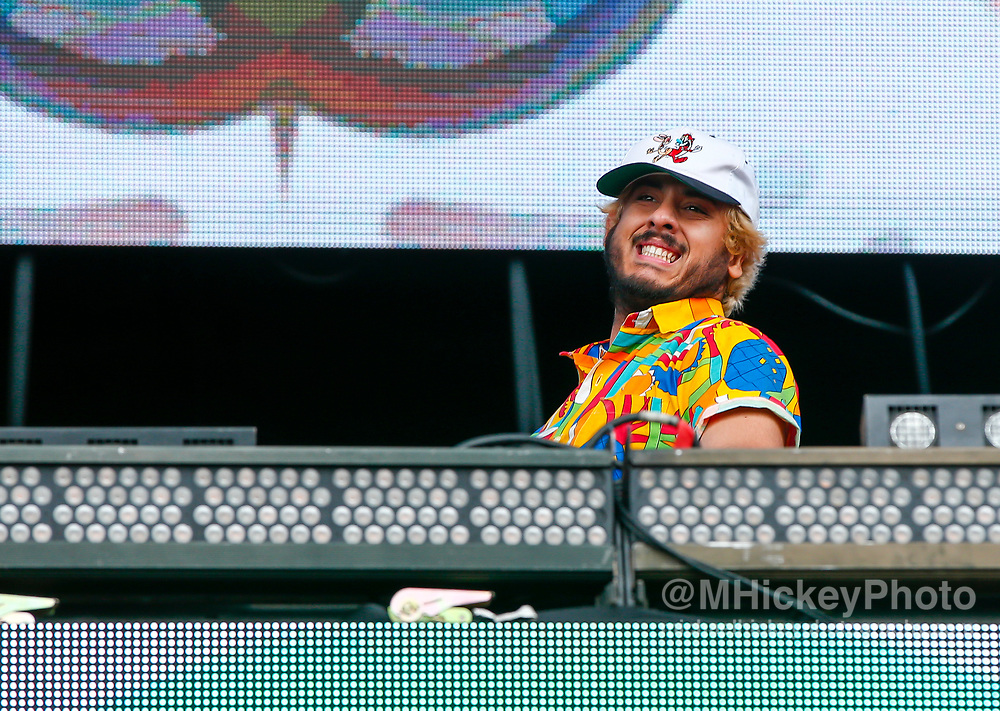 CHICAGO, IL - AUGUST 04: Ookay performs at Grant Park on August 4, 2017 in Chicago, Illinois. (Photo by Michael Hickey/Getty Images) *** Local Caption *** Ookay