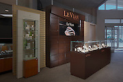 Interior image of LeVian Chocolatier retail display at jewelery store by Jeffrey Sauers of Commercial Photographics