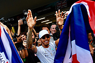 Lewis Hamilton has been named in the 'Paradise Papers' regarding the purchase of his Bombardier Challenger 605 private jet.<br /> Here pictured winning his fourth Formula One World Championship title on 29th October at Circuit Hermanos Rodriguez, Mexico City<br /> Picture by EXPA Pictures/Focus Images Ltd 07814482222<br /> 06/11/2017<br /> *** UK &amp; IRELAND ONLY ***<br /> <br /> EXPA-EIB-171030-0150.jpg