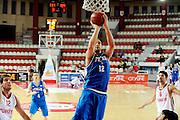 DESCRIZIONE : Teramo Giochi del Mediterraneo 2009 Mediterranean Games Italia Turchia Italy Turkey Preliminary Men<br /> GIOCATORE : Tommaso Rinaldi<br /> SQUADRA : Nazionale Italiana Maschile<br /> EVENTO : Teramo Giochi del Mediterraneo 2009<br /> GARA : Italia Turchia Italy Turkey<br /> DATA : 30/06/2009<br /> CATEGORIA : tiro<br /> SPORT : Pallacanestro<br /> AUTORE : Agenzia Ciamillo-Castoria/G.Ciamillo