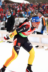 11.12.2011, Biathlonzentrum, Hochfilzen, AUT, E.ON IBU Weltcup, 2. Biathlon, Hochfilzen, Staffel Herren, im Bild Greis Michael (Team Germany) // during Team Relay E.ON IBU World Cup 2th Biathlon, Hochfilzen, Austria on 2011/12/11. EXPA Pictures © 2011. EXPA Pictures © 2011, PhotoCredit: EXPA/ nph/ Straubmeier..***** ATTENTION - OUT OF GER, CRO *****