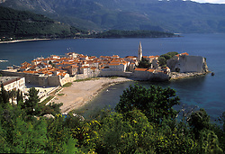 Montenegrin Coast:  The ancient town of Budva, now a popular tourist haven, was founded 2.500 years ago.