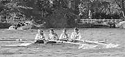Kingston on Thames, United Kingdom.    Tideway Scullers School. W4+. Stroke Sue SMITH, No.3. Kate GROSE. The final Round of the Leyland Daf Sprint series, at Kingston RC on the River Thames, Surrey, England, <br /> <br /> Saturday 04.05.1987<br /> <br /> [Mandatory Credit; Peter Spurrier/Intersport-images] 1987 Leyland Daf Sprints, Kingston. UK