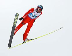 13.02.2013, Vogtland Arena, Kingenthal, GER, FIS Ski Sprung Weltcup, im Bild Dimitry Vasiliev, Russland // during the FIS Skijumping Worldcup at the Vogtland Arena, Kingenthal, Germany on 2013/02/13. EXPA Pictures © 2013, PhotoCredit: EXPA/ Eibner/ Ingo Jensen..***** ATTENTION - OUT OF GER *****