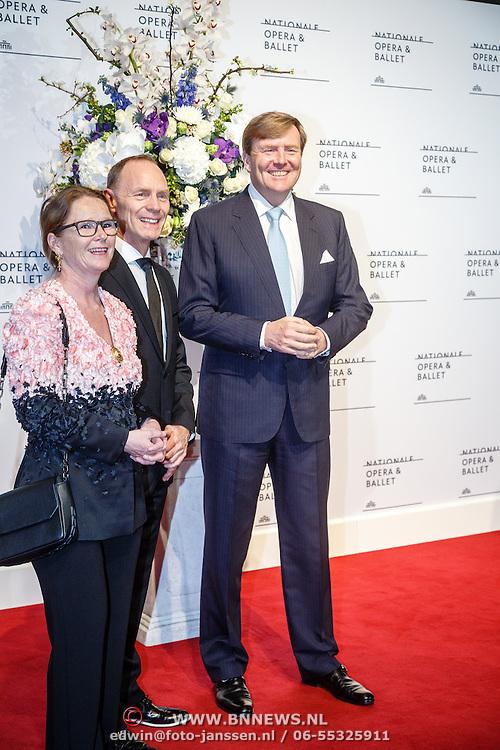 NLD//Amsterdam20160415 - Première 'Roméo et Juliette', Koning Willem - Alexander