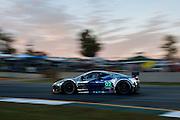 Anthony Lazzaro, Ed Brown and Guy Cosmo, Extreme Speed Motorsports (GT) Ferrari F458 Italia, Petit Le Mans. Oct 18-20, 2012. © Jamey Price