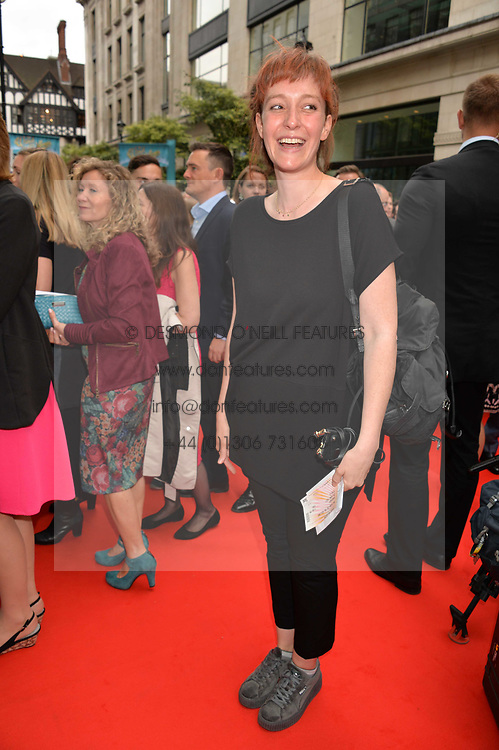Kate Rothschild arriving at The opening night of Wind in The Willows at the London Palladium, Argyll Street, London England. 29 June 2017.<br /> Photo by Dominic O'Neill/SilverHub 0203 174 1069 sales@silverhubmedia.com