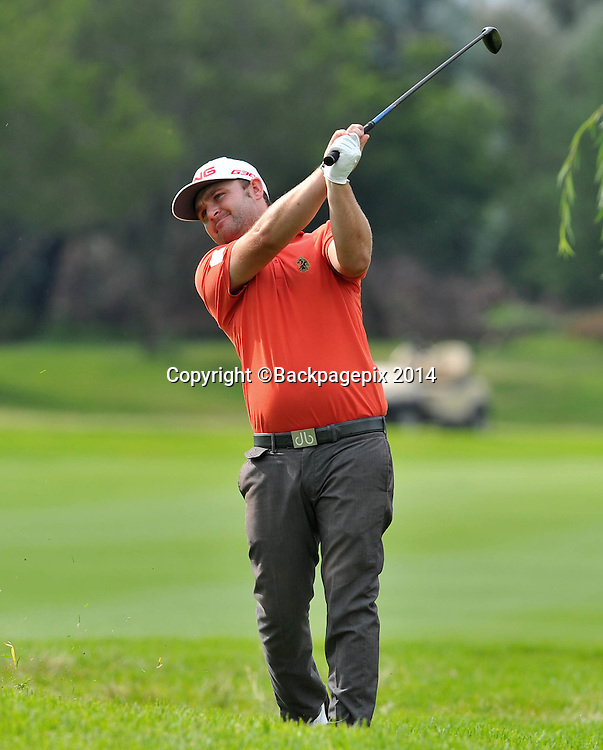Andy Sullivan during the 2015 South Africa Golf Open Championship at the Glendower Golf Course in Johannesburg, South Africa on January 10, 2014 ©Samuel Shivambu/BackpagePix