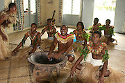 Kava ceremony, Viti Levu, Fiji, Melanesia, South Pacific