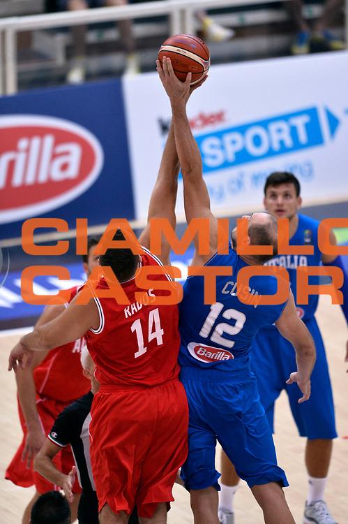 DESCRIZIONE : Trento Nazionale Italia Uomini Trentino Basket Cup Italia Austria Italy Austria<br /> GIOCATORE : Marco Cusin<br /> CATEGORIA : contesa<br /> SQUADRA : Italia Italy<br /> EVENTO : Trentino Basket Cup<br /> GARA : Italia Austria Italy Austria<br /> DATA : 31/07/2015<br /> SPORT : Pallacanestro<br /> AUTORE : Agenzia Ciamillo-Castoria/Max.Ceretti<br /> Galleria : FIP Nazionali 2015<br /> Fotonotizia : Trento Nazionale Italia Uomini Trentino Basket Cup Italia Austria Italy Austria