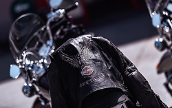 27.06.2019, Schladming, AUT, Rock the Roof 2019, im Bild Harley Davidson Lederjacke // during the Rock the Roof Biker Meeting in Schladming, Austria on 2019/06/27. EXPA Pictures © 2019, PhotoCredit: EXPA/ JFK